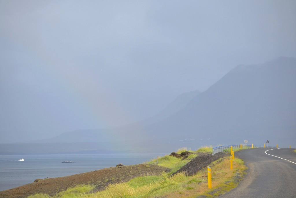 kurz hinter Rif auf dem Weg nach Olavsvik